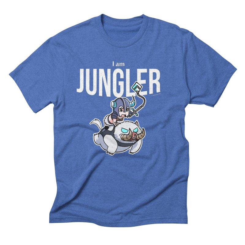 I am jungler Men's Triblend T-shirt by Teemovsall Official shop