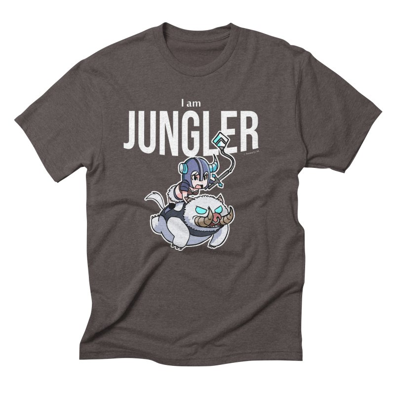 I am jungler Men's Triblend T-Shirt by Teemovsall Official shop