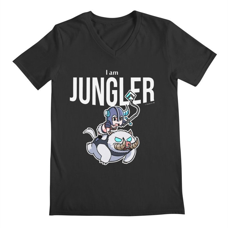 I am jungler Men's V-Neck by Teemovsall Official shop