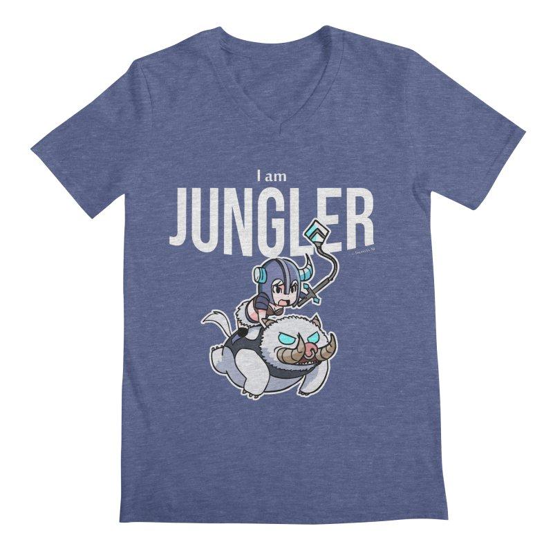 I am jungler Men's V-Neck by Teemovsall Official shop