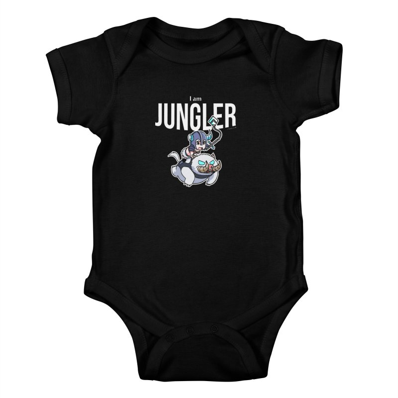 I am jungler Kids Baby Bodysuit by Teemovsall Official shop