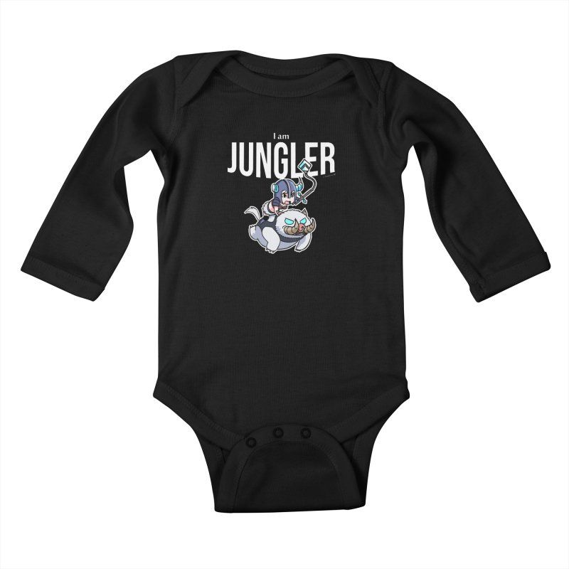 I am jungler Kids Baby Longsleeve Bodysuit by Teemovsall Official shop