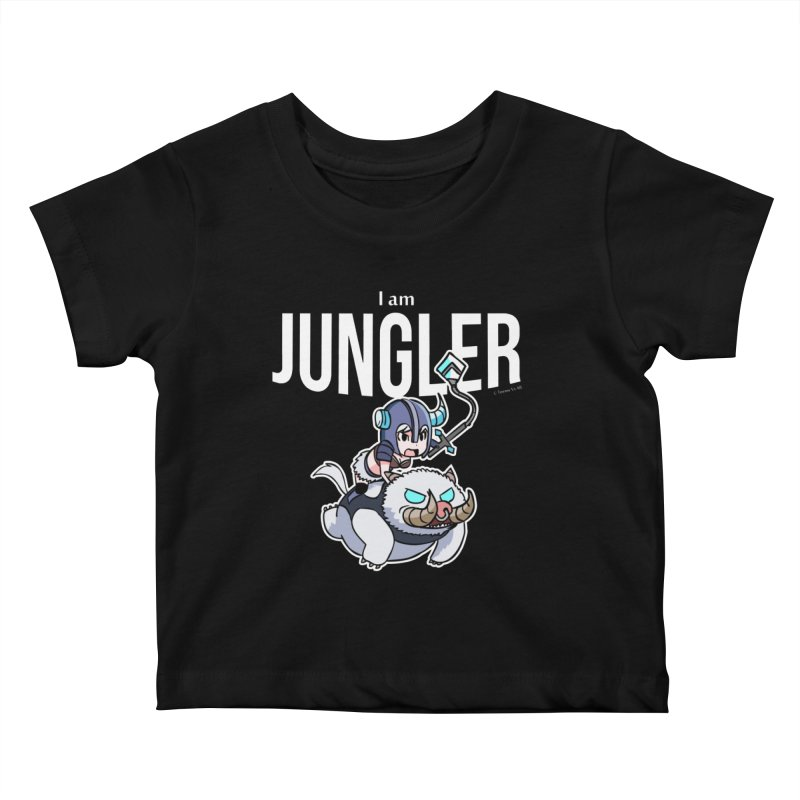 I am jungler Kids Baby T-Shirt by Teemovsall Official shop