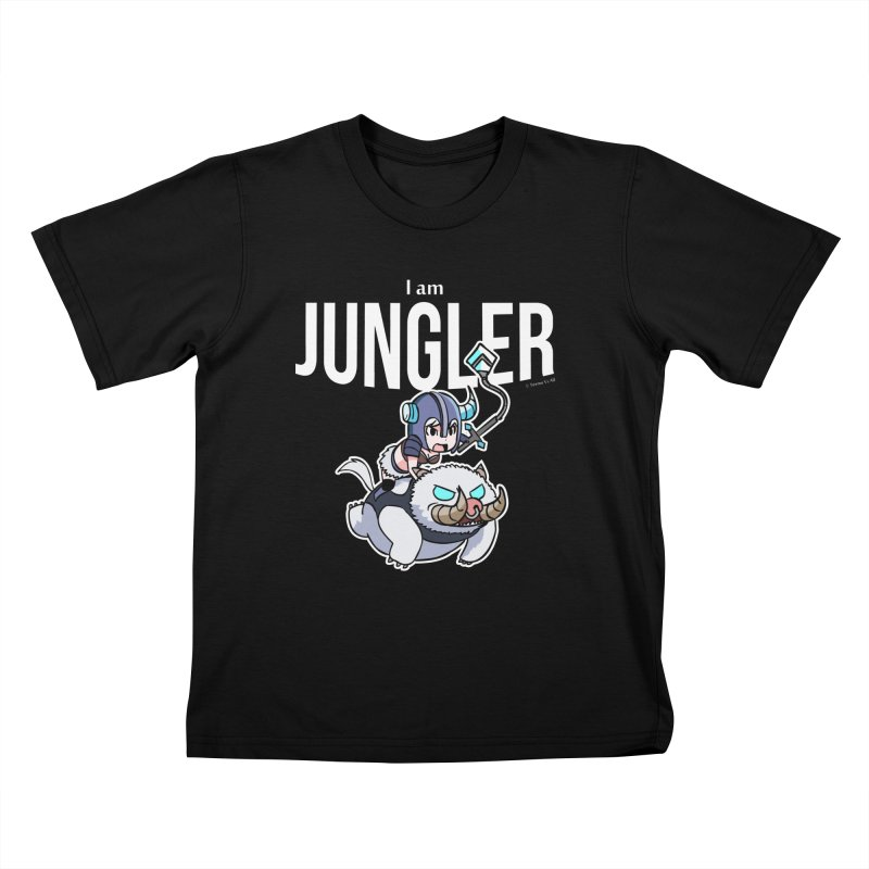 I am jungler Kids T-Shirt by Teemovsall Official shop