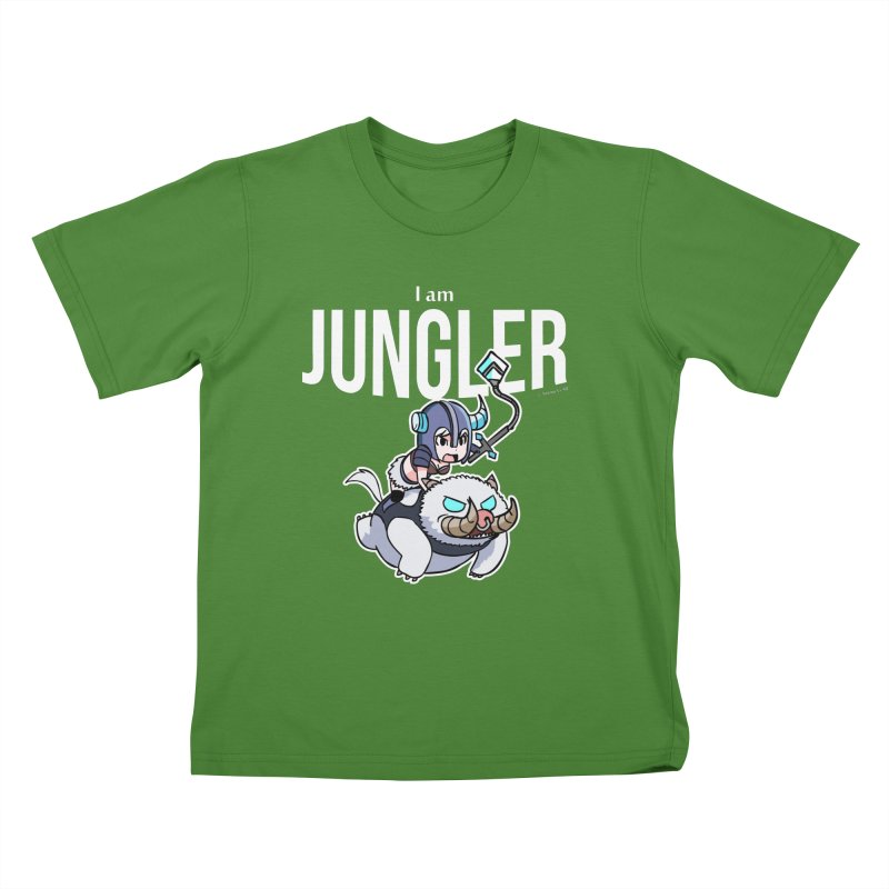 I am jungler Kids T-shirt by Teemovsall Official shop