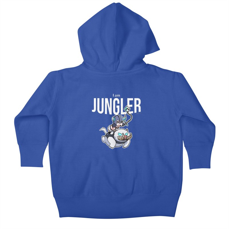 I am jungler Kids Baby Zip-Up Hoody by Teemovsall Official shop