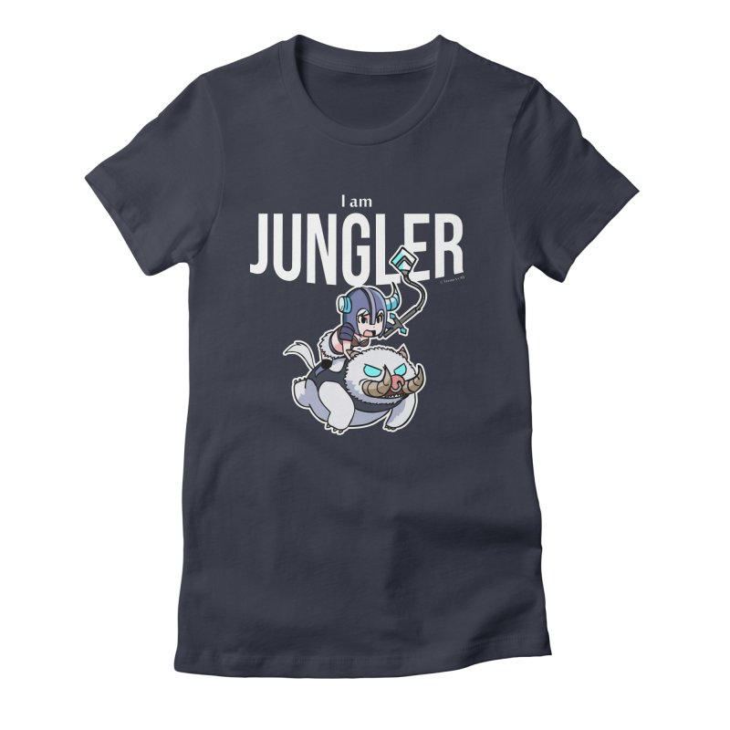 I am jungler Women's Fitted T-Shirt by Teemovsall Official shop