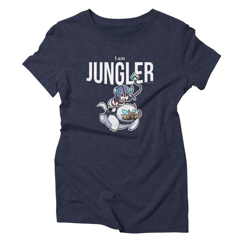 I am jungler Women's Triblend T-shirt by Teemovsall Official shop