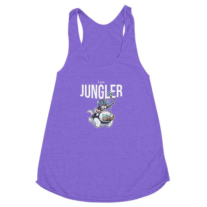 I am jungler Women's Racerback Triblend Tank by Teemovsall Official shop