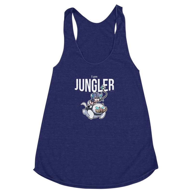 I am jungler Women's Racerback Triblend Tank by Teemovsall Official shop