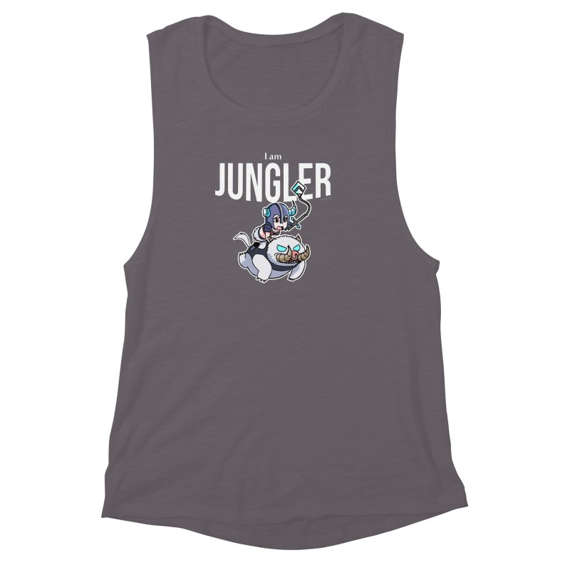 I am jungler Women's Muscle Tank by Teemovsall Official shop