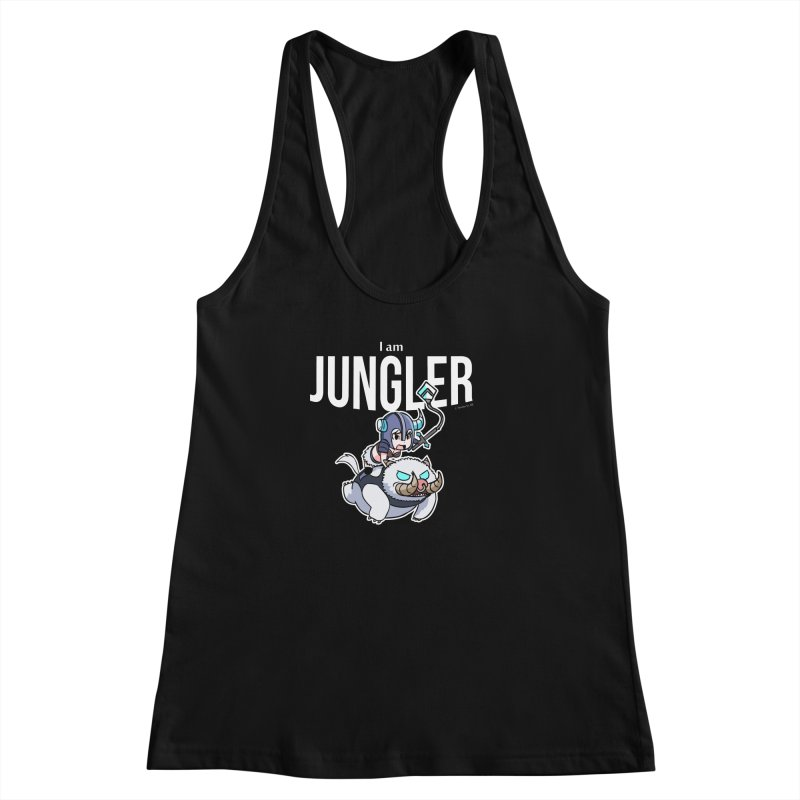 I am jungler Women's Racerback Tank by Teemovsall Official shop