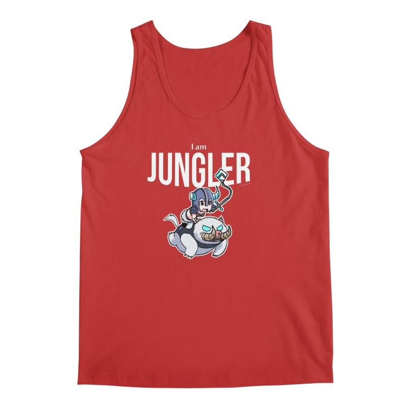 I am jungler Men's Regular Tank by Teemovsall Official shop