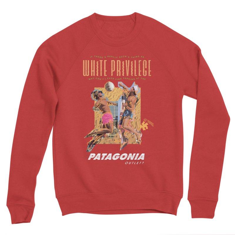 GAME, SET, MATCH Men's Sponge Fleece Sweatshirt by Teenage Stepdad
