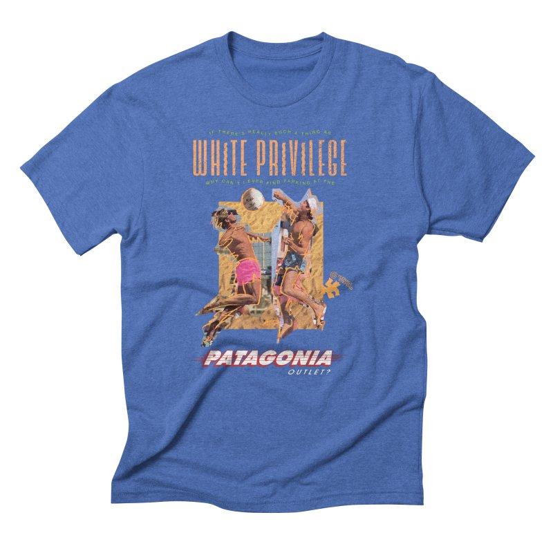 GAME, SET, MATCH Men's Triblend T-Shirt by Teenage Stepdad