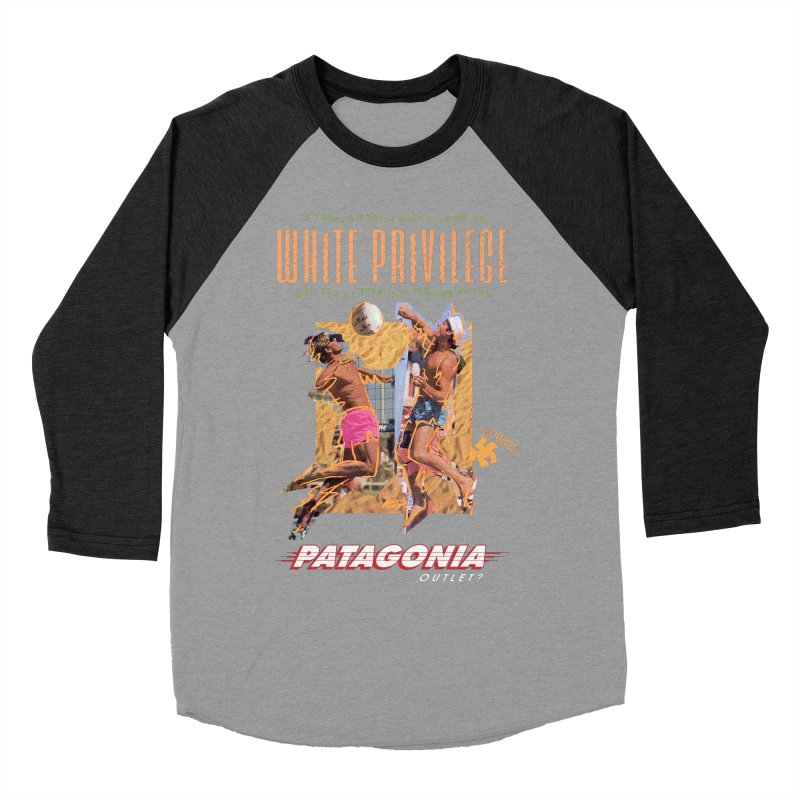 GAME, SET, MATCH Women's Baseball Triblend Longsleeve T-Shirt by Teenage Stepdad