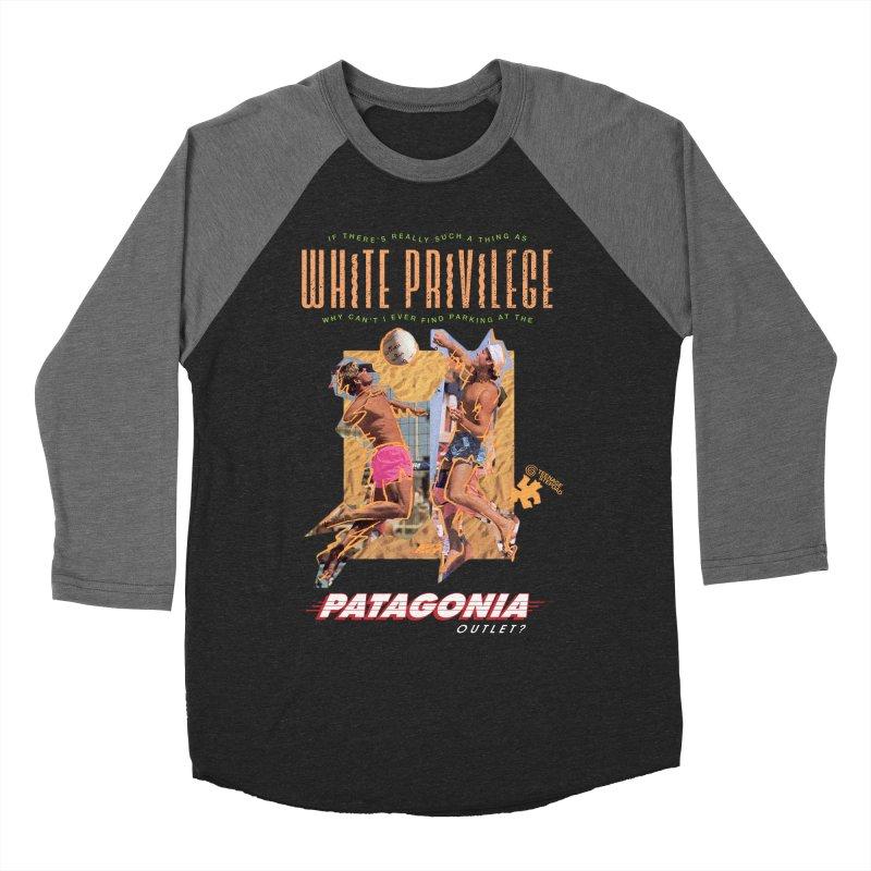 GAME, SET, MATCH Men's Baseball Triblend Longsleeve T-Shirt by Teenage Stepdad