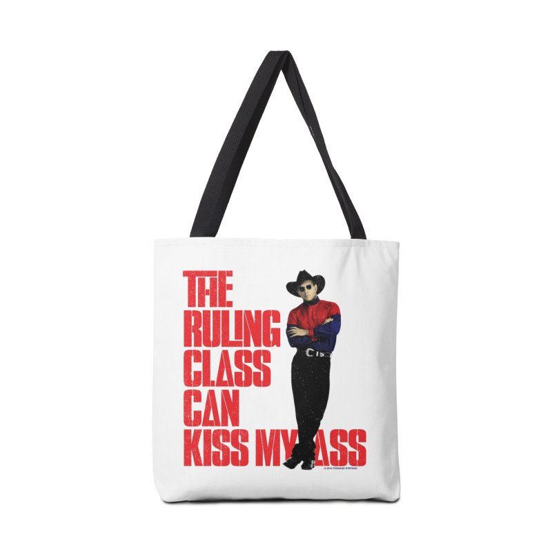 THE RULING CLASS CAN KISS MY ASS Accessories Tote Bag Bag by Teenage Stepdad