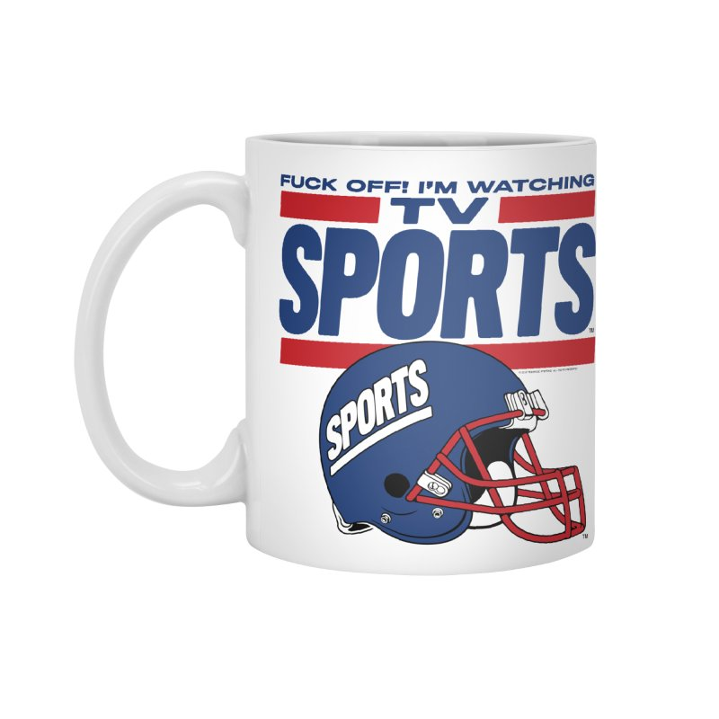 TV SPORTS Accessories Standard Mug by Teenage Stepdad