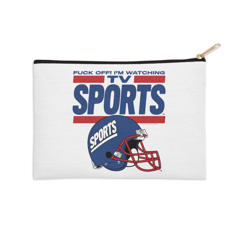 TV SPORTS Accessories Zip Pouch by Teenage Stepdad