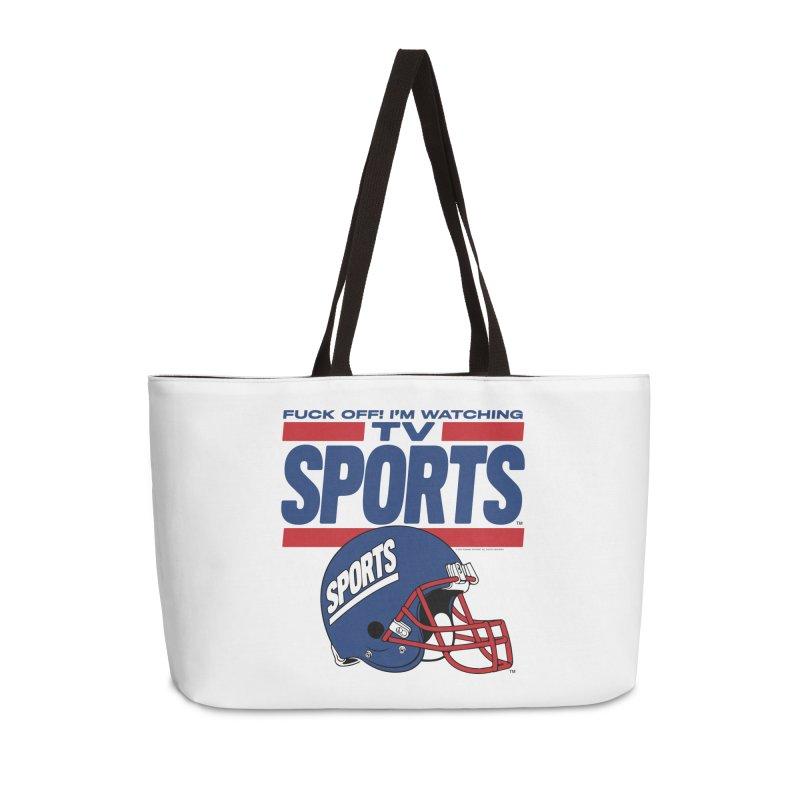 TV SPORTS Accessories Weekender Bag Bag by Teenage Stepdad