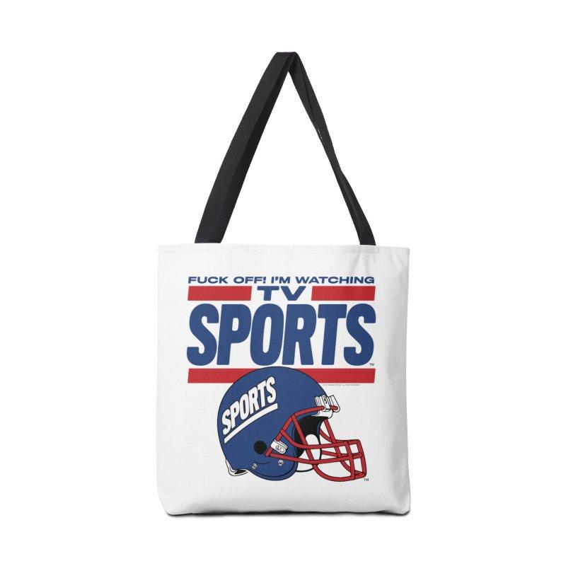 TV SPORTS Accessories Tote Bag Bag by Teenage Stepdad