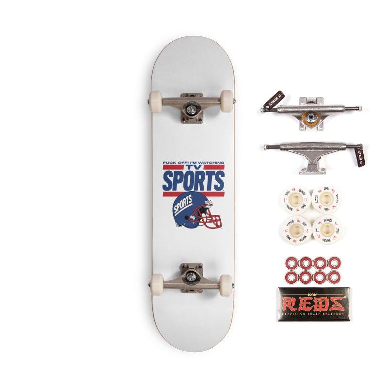 TV SPORTS Accessories Complete - Pro Skateboard by Teenage Stepdad