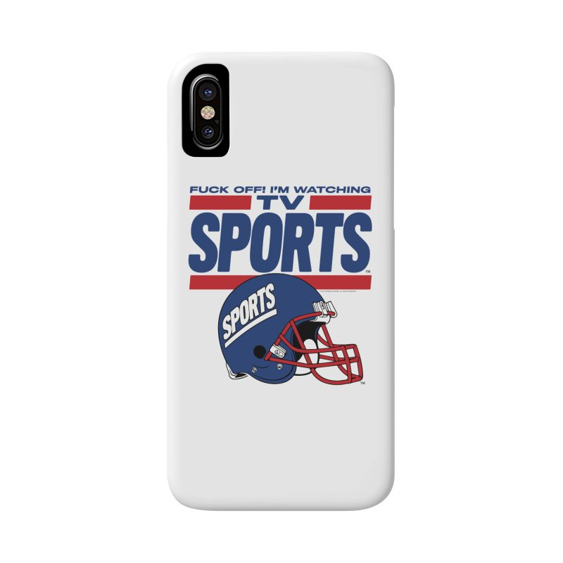 TV SPORTS Accessories Phone Case by Teenage Stepdad