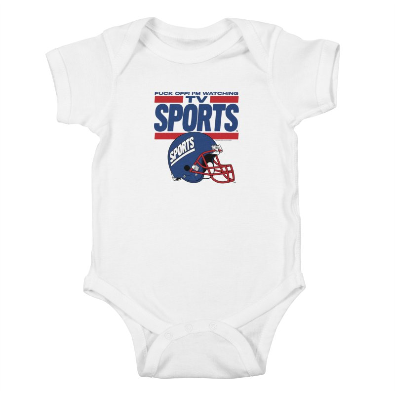 TV SPORTS Kids Baby Bodysuit by Teenage Stepdad