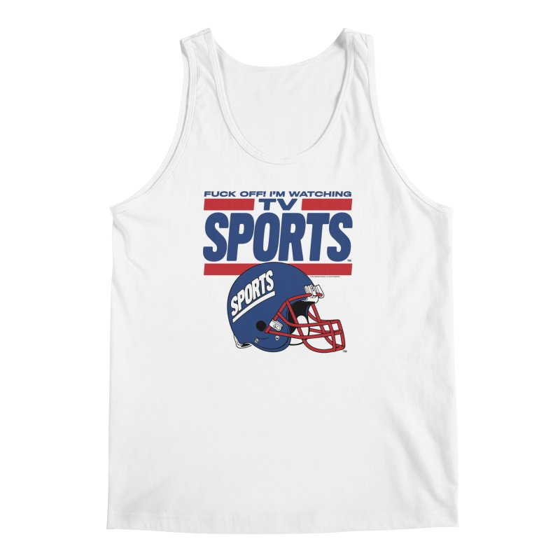 TV SPORTS Men's Regular Tank by Teenage Stepdad