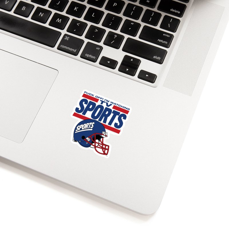 TV SPORTS Accessories Sticker by Teenage Stepdad