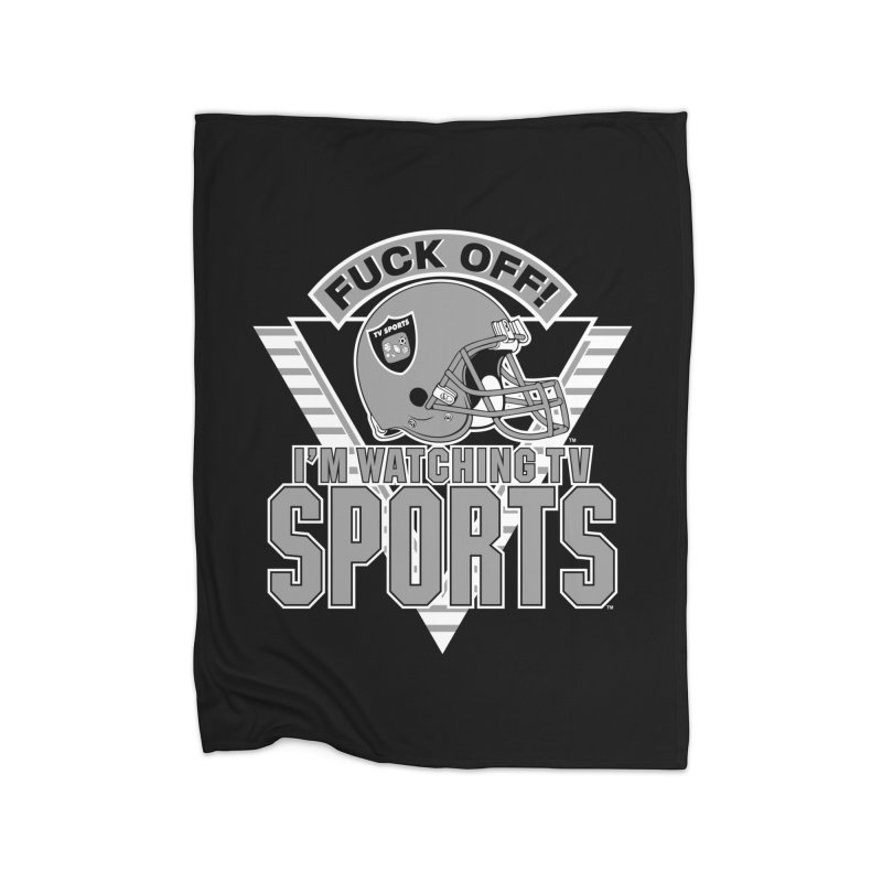 TV SPORTS LOS ANGELES Home Fleece Blanket Blanket by Teenage Stepdad