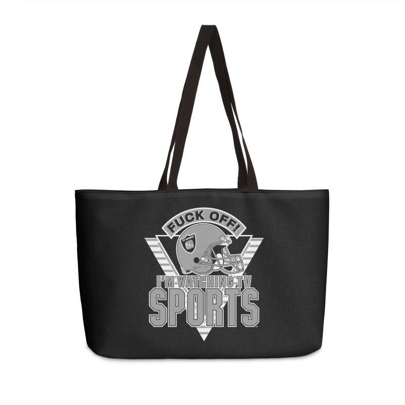 TV SPORTS LOS ANGELES Accessories Weekender Bag Bag by Teenage Stepdad