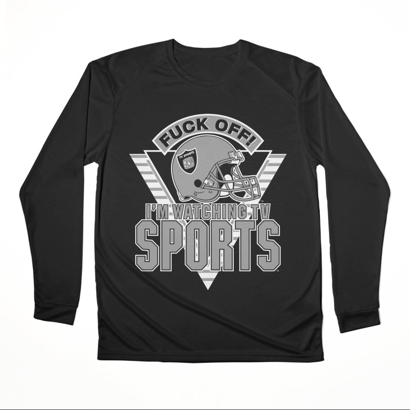 TV SPORTS LOS ANGELES Men's Performance Longsleeve T-Shirt by Teenage Stepdad