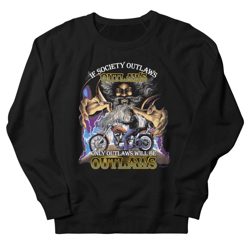 OUTLAWS OUTLAWS OUTLAWS OUTLAWS Men's French Terry Sweatshirt by Teenage Stepdad