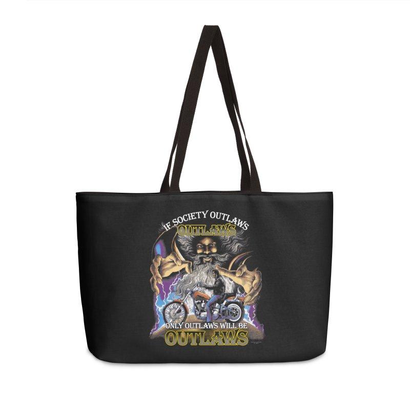 OUTLAWS OUTLAWS OUTLAWS OUTLAWS Accessories Weekender Bag Bag by Teenage Stepdad