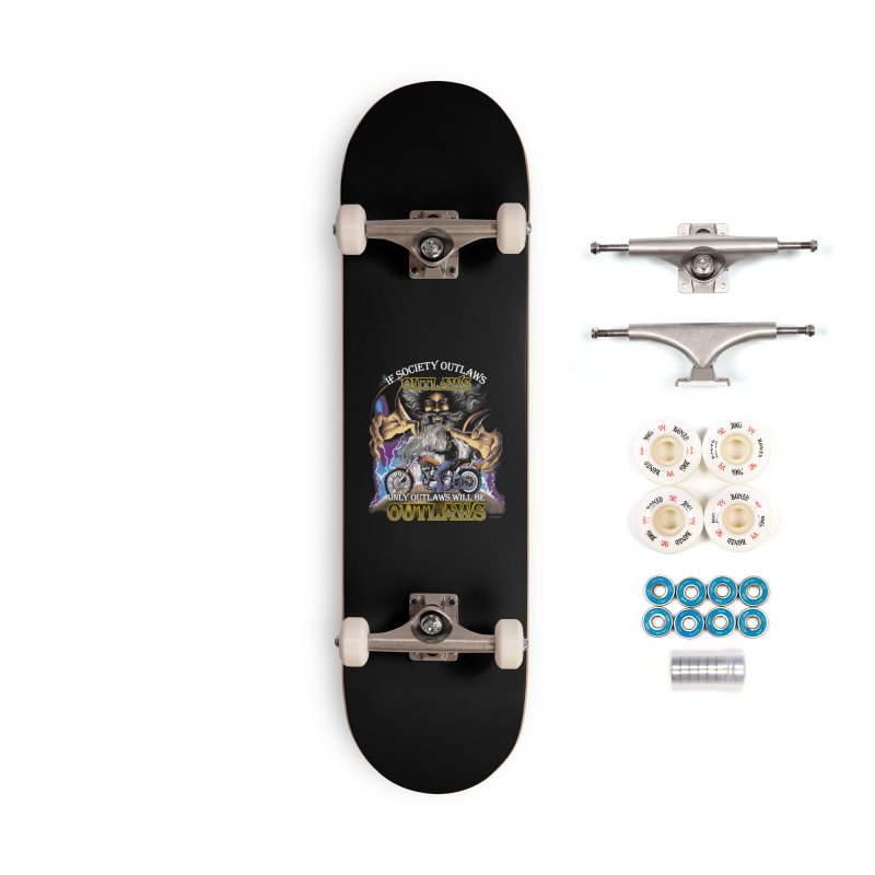 OUTLAWS OUTLAWS OUTLAWS OUTLAWS Accessories Complete - Premium Skateboard by Teenage Stepdad