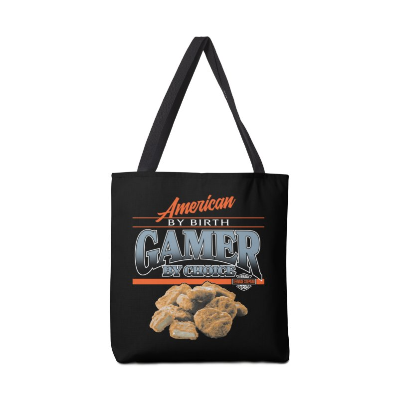 GAMER BY CHOICE Accessories Tote Bag Bag by Teenage Stepdad