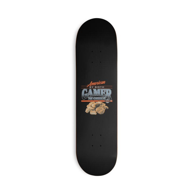 GAMER BY CHOICE Accessories Deck Only Skateboard by Teenage Stepdad