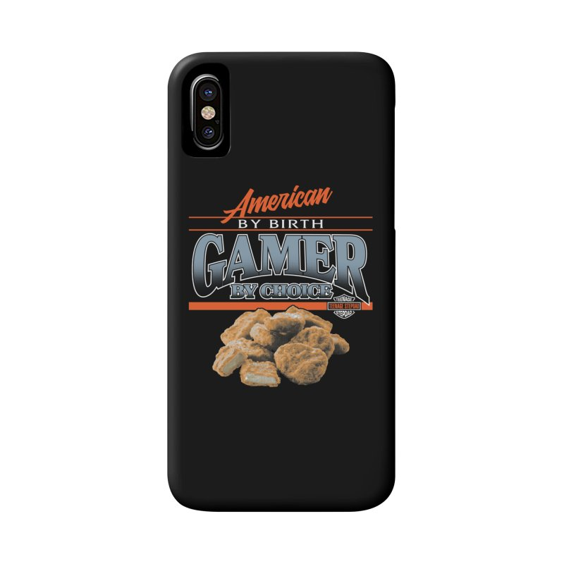 GAMER BY CHOICE Accessories Phone Case by Teenage Stepdad