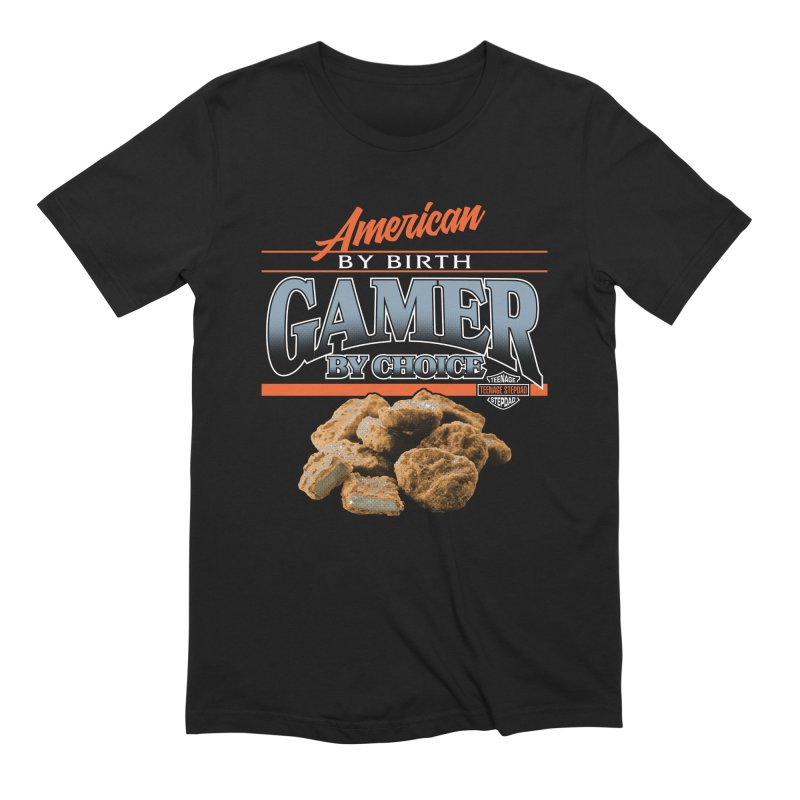 GAMER BY CHOICE Men's Extra Soft T-Shirt by Teenage Stepdad