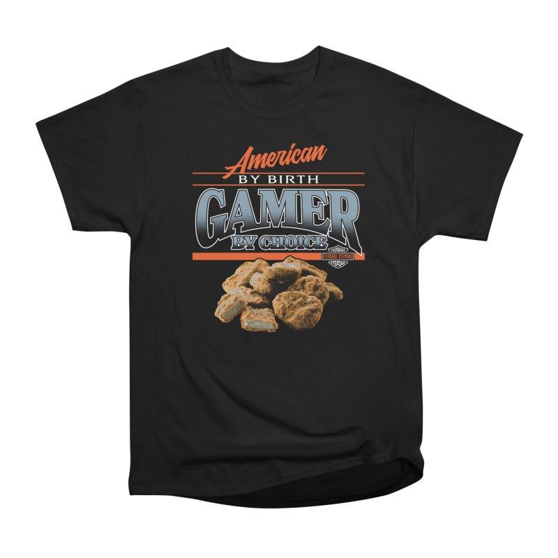 GAMER BY CHOICE Women's Heavyweight Unisex T-Shirt by Teenage Stepdad