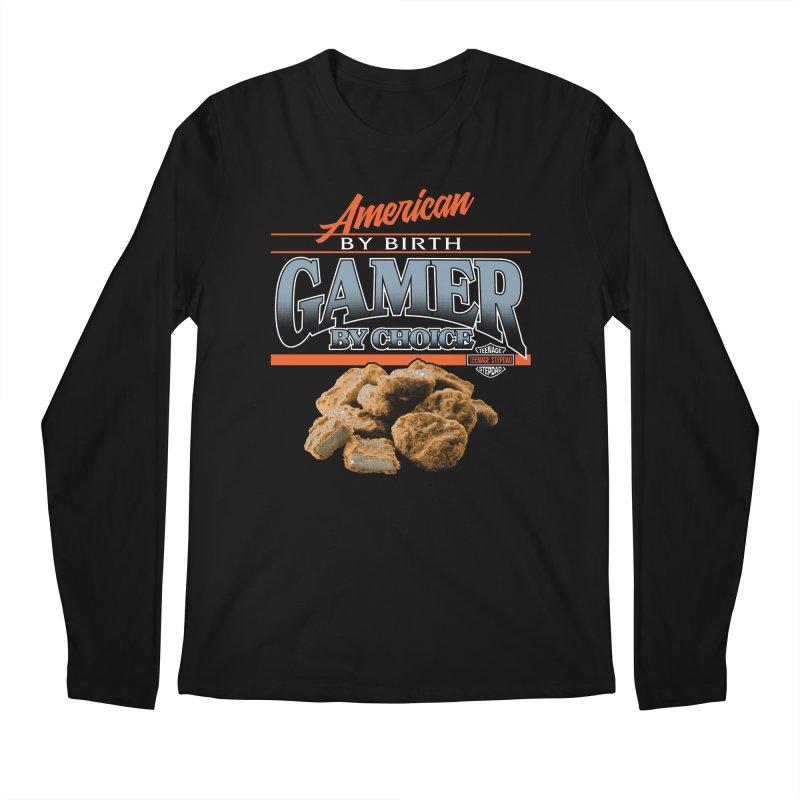 GAMER BY CHOICE Men's Regular Longsleeve T-Shirt by Teenage Stepdad