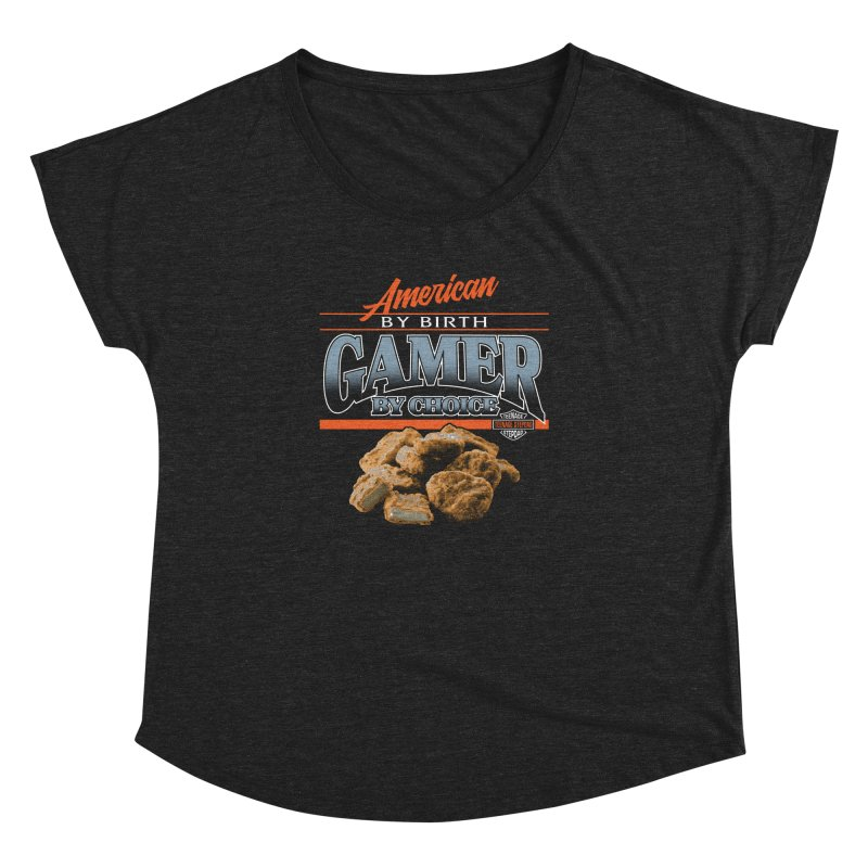 GAMER BY CHOICE Women's Dolman Scoop Neck by Teenage Stepdad