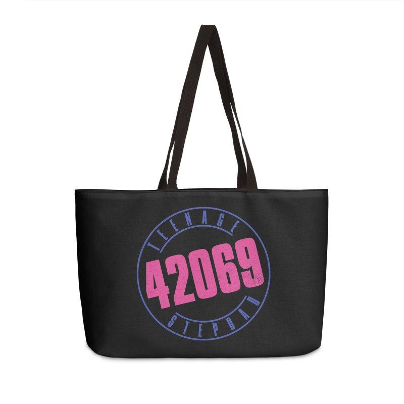 42069 Accessories Weekender Bag Bag by Teenage Stepdad
