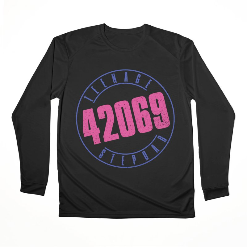 42069 Men's Performance Longsleeve T-Shirt by Teenage Stepdad