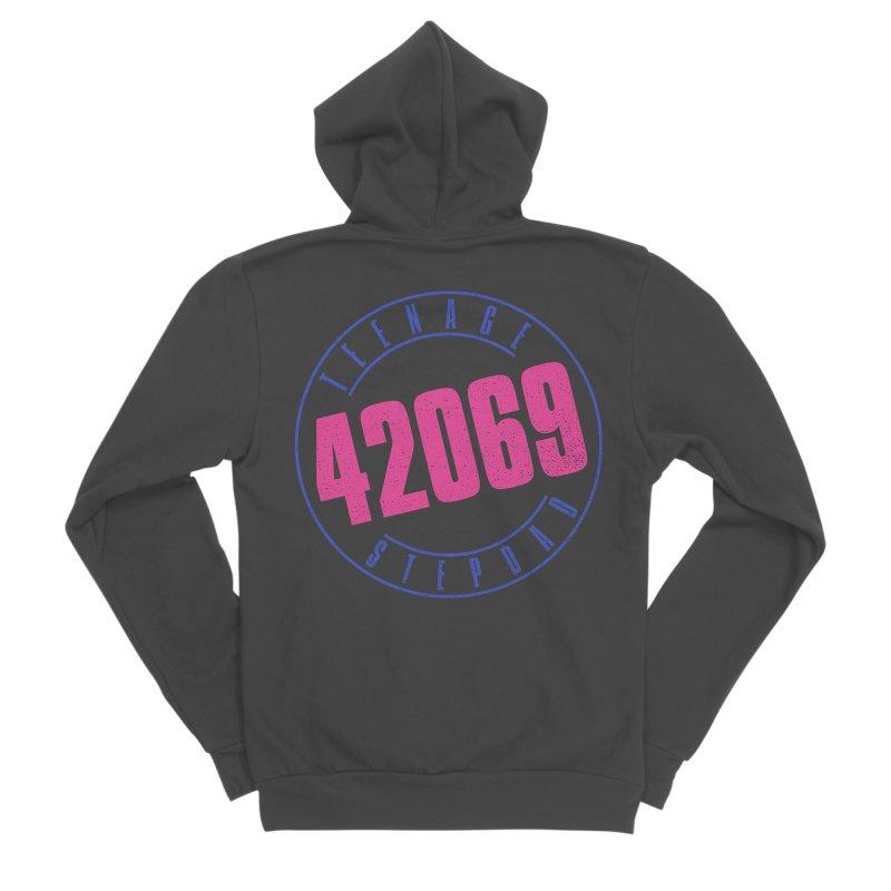 42069 Men's Sponge Fleece Zip-Up Hoody by Teenage Stepdad