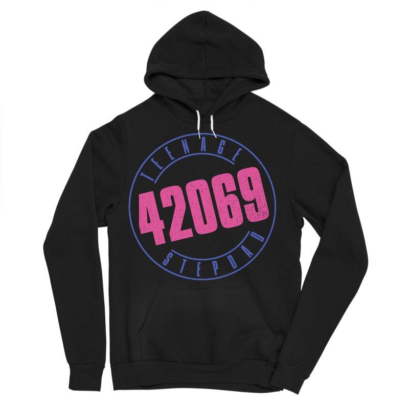 42069 Men's Sponge Fleece Pullover Hoody by Teenage Stepdad