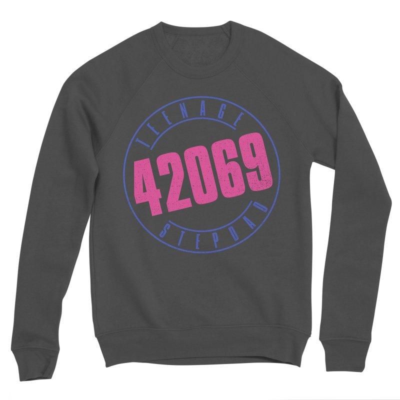 42069 Men's Sponge Fleece Sweatshirt by Teenage Stepdad