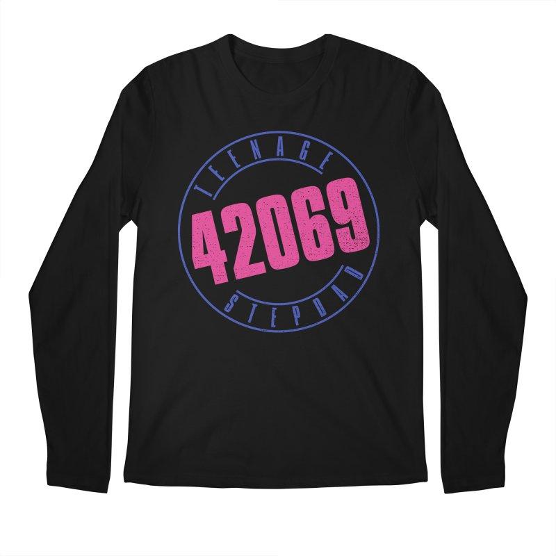 42069 Men's Regular Longsleeve T-Shirt by Teenage Stepdad